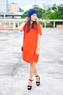 Shift-mango-dress-mango-purse-suede-feet-for-a-queen-heels