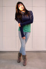 Suede-bocage-boots-skinny-j-brand-jeans-830sign-sweater-thrift-t-shirt