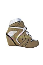 Sneakers Wedges Decimal Shoes Sneakers