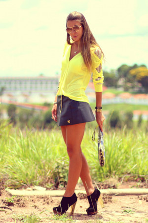black leopard ankle Charlotte Russe boots - black leather london skirt