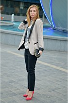 Dorothy Perkins blazer - Zara shoes - H&M pants - Local store blouse