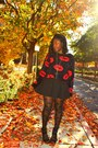 Red-kiss-sweater-forever-21-sweater-black-forever-21-tights