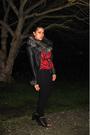 Black-dolce-vita-shoes-black-riki-leggings-red-vintage-from-painted-bird-top