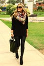 Mirelly-reyna-sweater-mirelly-reyna-leggings-zara-scarf