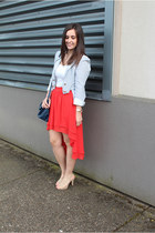 Staring at Stars skirt - Payless shoes - HY&DOT blazer - H&M bag