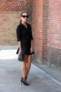 Black-forever-21-shirt-black-cat-eye-asos-sunglasses
