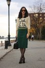 Forever-21-sweater-kate-spade-purse-forever-21-top-topshop-skirt