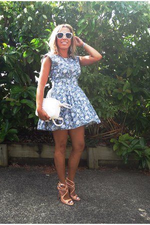 Chicca booti dress - Gucci bag - Forever 21 sunglasses