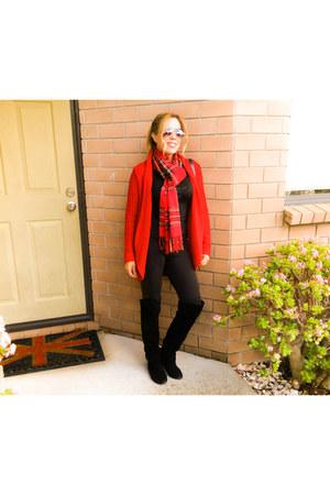 black cotton on leggings - Girl XPress boots