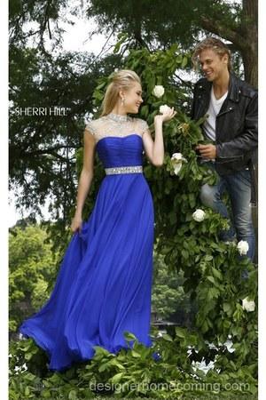 blue Sherri Hill 21254 dress - pink Sherri Hill 21254 dress