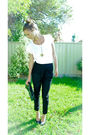 White-sportsgirl-top-black-country-road-pants-black-tony-bianco-shoes-blac