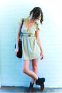 Yellow-vintage-dress-gold-diva-accessories-black-sportsgirl-accessories-bl