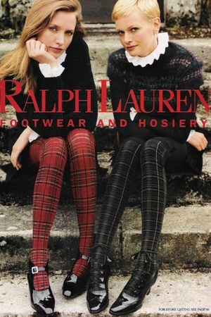 mary janes Ralph Lauren shoes - sweater - plaid Ralph Lauren leggings
