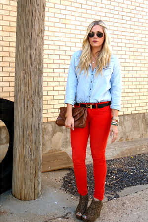 Gap pants - Nordstrom blouse