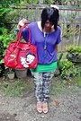 Heather-gray-pattern-local-online-shop-leggings-red-betty-boop-yoko-ara-bag
