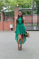 forest green Republic dress