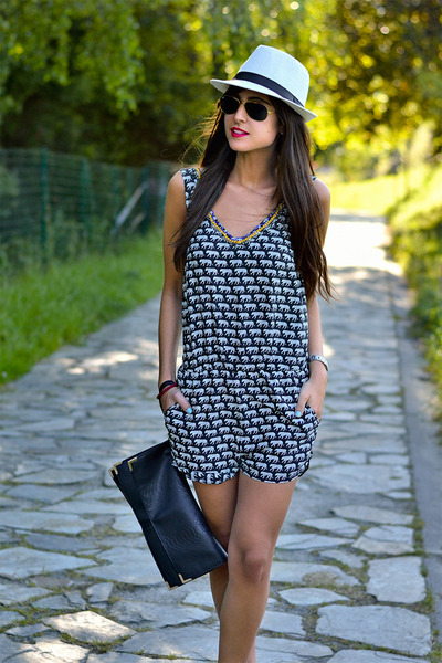 suiteblanco dress - Primark bag - ray-ban glasses