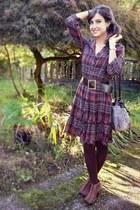 Bershka shoes - el corte inglé dress - BLANCO bag