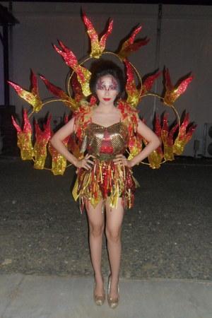 fire costume Peewee Senining dress