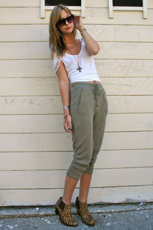 UO pants - Jeffrey Campbell boots - DIY bracelet