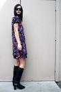 Vintage-dress-vintage-boots