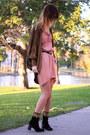Vintage-cardigan-vintage-boots-vintage-dress