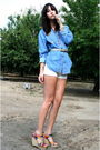 Vintage-top-vintage-shorts-cynthia-vincent-shoes