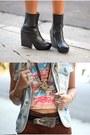 Tunnel-vision-shirt-vagabond-boots-vintage-shorts