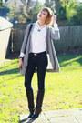 Black-knee-high-boots-karen-millen-boots-navy-skinny-h-m-jeans