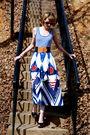 White-vintage-sunglasses-blue-inc-top-blue-ralph-lauren-skirt-white-americ