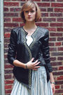 Black-surface-to-air-jacket-white-anthropologie-skirt-black-givenchy-shoes-
