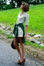 Beige-joie-dress-green-vintage-shirt-brown-miu-miu-shoes-black-kmrii-purse