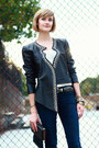 Black-studded-leather-surface-to-air-jacket-white-t-shirt-stylemint-top