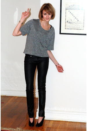 Forever21 t-shirt - H&amp;M jeans - maison martin margiela shoes - vintage bracelet
