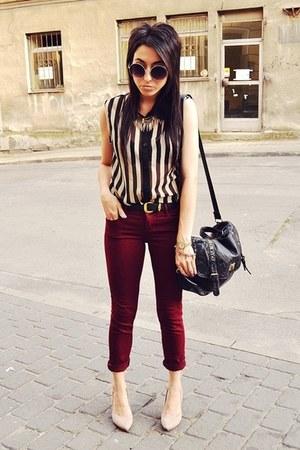 beige Zara shoes