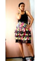 H&M blouse - f21 skirt