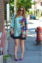 Zara dress - tachetti shoes