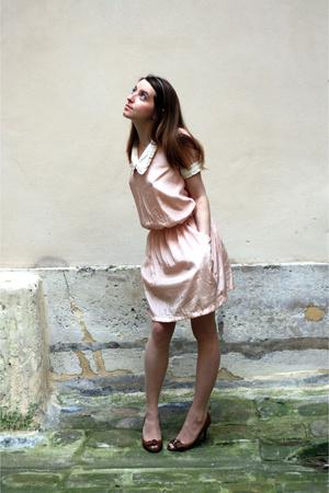 dress - Zara shoes