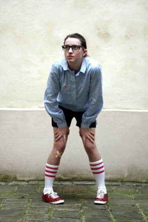 etam shirt - American Apparel socks