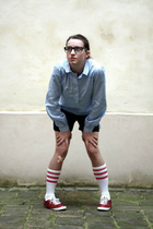 etam shirt - American Apparel socks