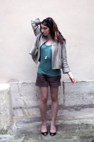 viktor & rolf accessories - H&M top - H&M vest - the french factory accessories