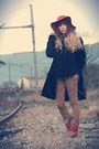 Tawny-vintage-boots-black-3322-coat-tawny-urban-outfitters-hat