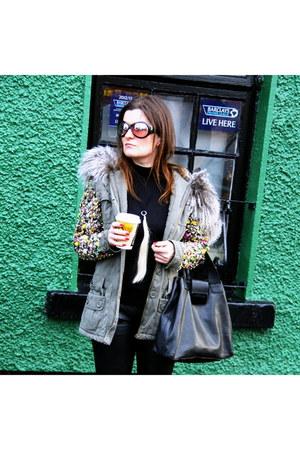 furstuds no brand jacket - Dolce & Gabbana boots