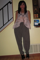 Forever 21 top - Forever 21 pants - Forever 21 shoes - Forever 21 necklace