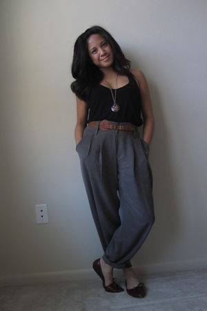 Charlotte Russe top - For Love 21 pants - Aldo shoes - Forever 21 necklace
