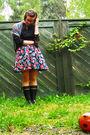 Black-kappahl-shirt-black-h-m-skirt-black-indiska-shoes-black-nokia-shoes-