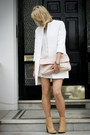 Silver-zara-sweater-nude-leather-zara-boots-white-zara-coat