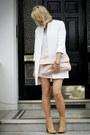 Silver-zara-sweater-nude-leather-zara-boots-white-zara-coat
