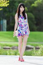 blue Rosy Ruby romper - bubble gum Wholesale7 shoes