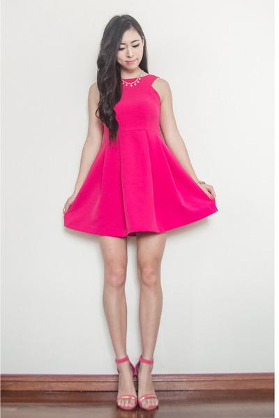 heels Ami Club Wear shoes - The Designs Closet dress